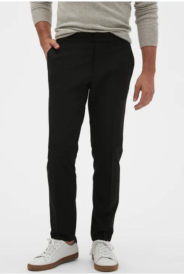Banana Republic Factory: Men's Mason E-Waist Athletic-Fit Pant $20.39 + Free Shipping