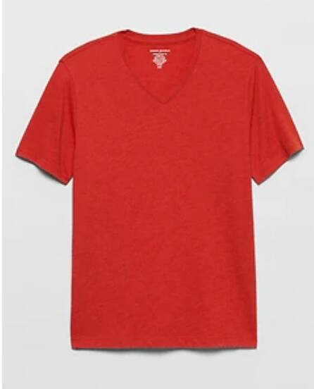 Banana Republic Factory: Extra 60% Off Clearance + 15% Off - Men's V-Neck $3.73, Graphic Tee $4.75, Pique Polo $5.44, Women's Dresses $9.51 + FS on $17+