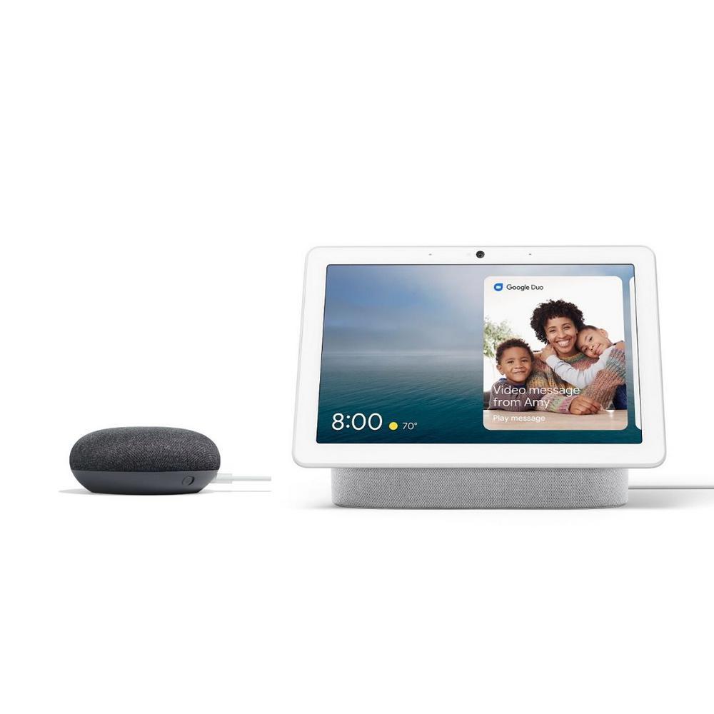 Google Nest Hub & Google Home Mini $88 & More  + Free Shipping