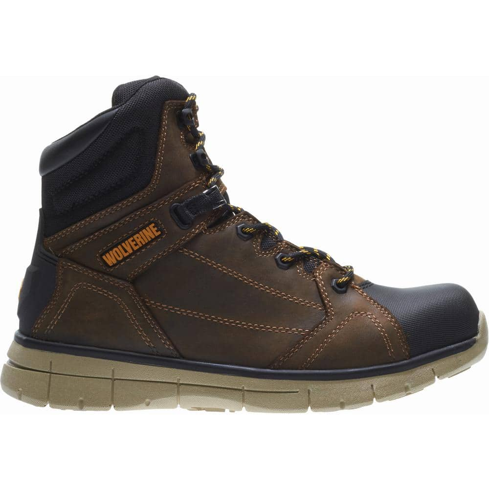"""Men's Wolverine 6"""" Waterproof Work Boots: Rigger Soft Toe $67.50, Crawford Steel Toe $75.50, Corsair Composite Toe $87.50 + Free Shipping"""