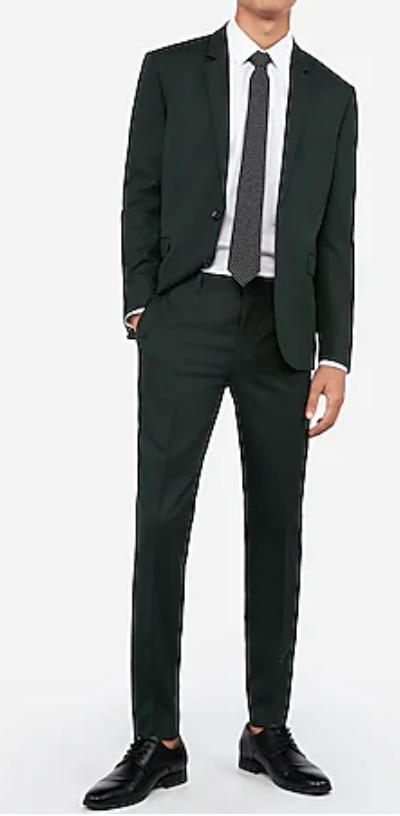 Express.com: Select Men's Slim/Extra Slim-Fit Suit Pants $29.50, Suit Jackets $69.50 + Free Shipping
