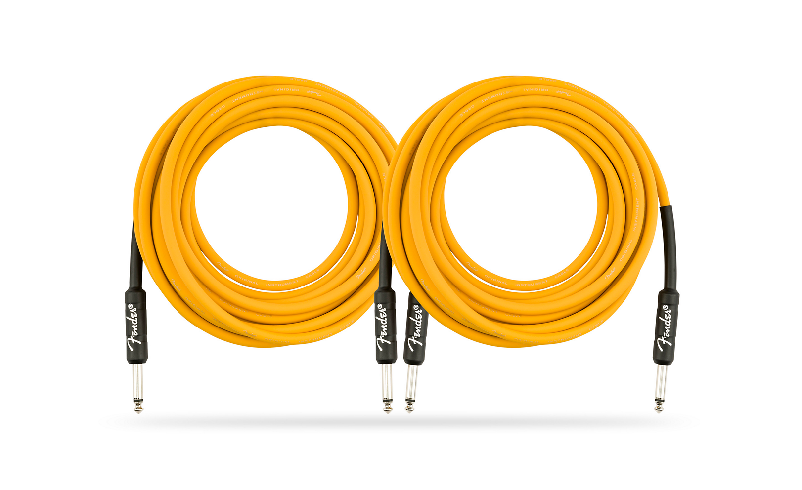 2-Pack 18.6 ft. Fender Original Series Limited Edition Butterscotch Blonde Instrument Cable $30 at Guitar Center + FS [12/2 only]