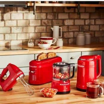 KitchenAid 100-Year Limited Edition Queen of Hearts: Buy 2, Save $20 at Home Depot | 7-Speed Hand Mixer: 2 for $90 ($45 each)  & More