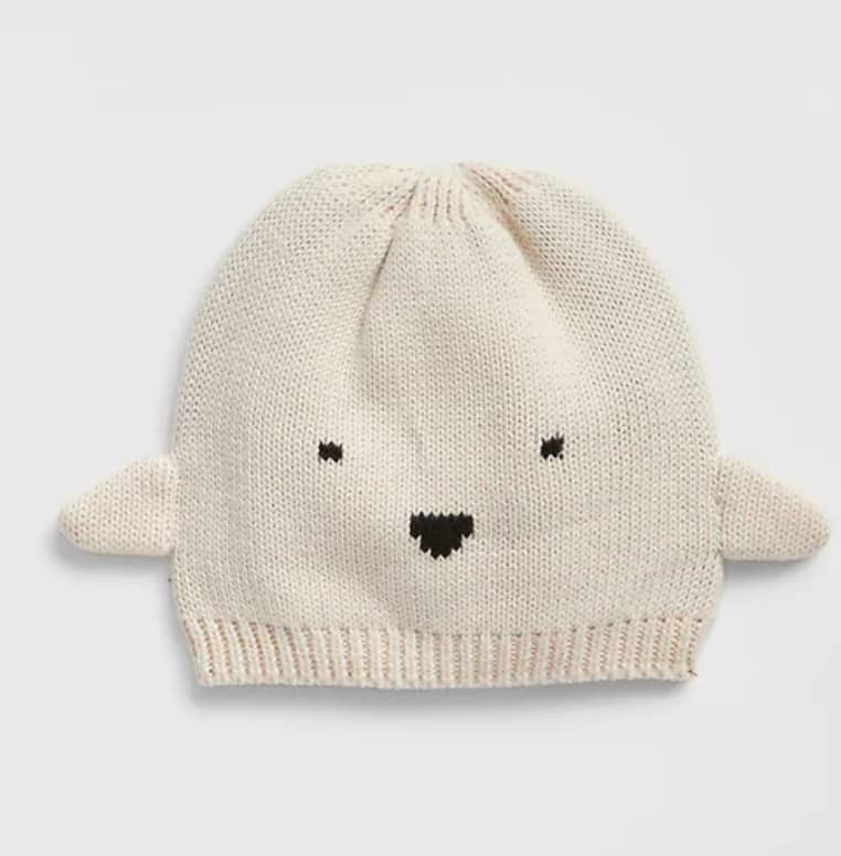 Gap: babyGap Ghost Beanie $4.49 | Men's Tees $6.74 | Girls' Sneakers from $10.34 & More + FS