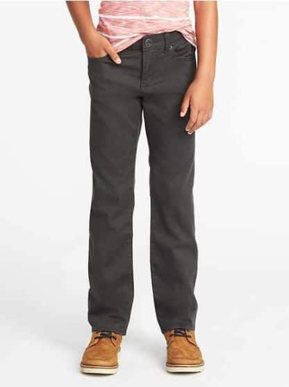 Old Navy: Boys' Built-In Flex Jeans (Karate Slim Max Color, Distressed Skinny) $7 + Free Shipping  [Valid 12/4 only]