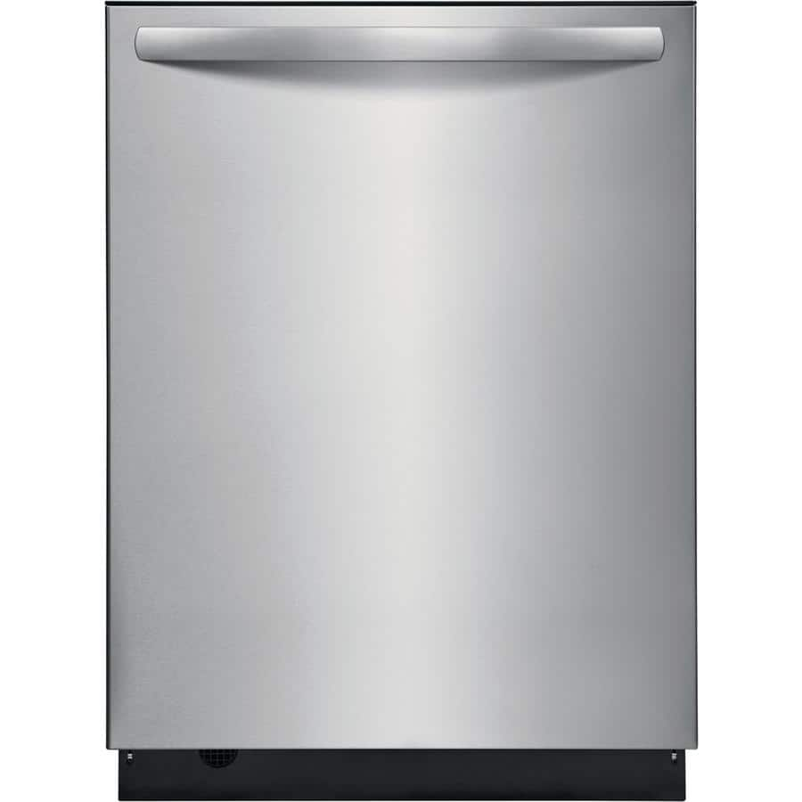 "24"" Frigidaire Dishwasher w/ Easy Care Stainless Steel Interior & Stainless Steel Tub, 49-db  $449 at Lowe's + Free Delivery"