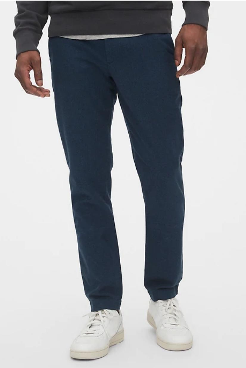 Gap.com: Men's Brushed Twill Pants (Skinny or Slim Fit), Modern Khakis (Select Colors) $16 + Free S/H