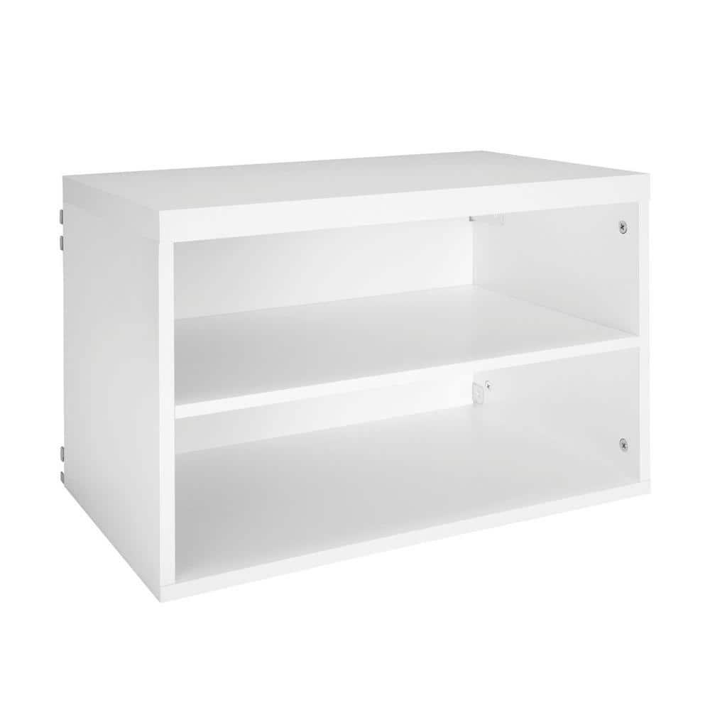 ClosetMaid Elite 2-Cube Shelf Organizer (23.60 in. x 14.67 in.) $42.24   4-Shelf Decorative Unit (59 in. x 30 in.) $96.51 at Home Depot + FS **valid 1/6/19