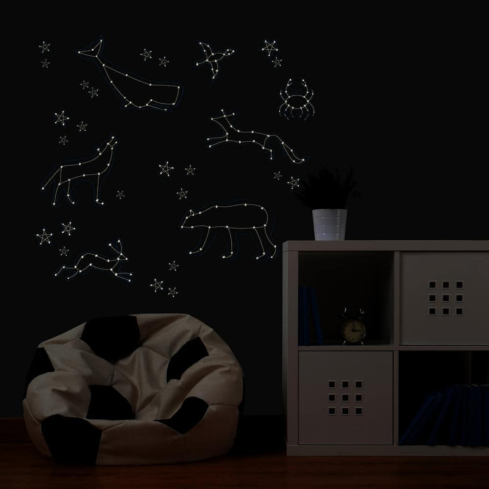 Wallpops Reach for the Stars Glow in the Dark Wall Art Kit (33 Pieces) $10.50 at Home Depot + Free Store Pickup