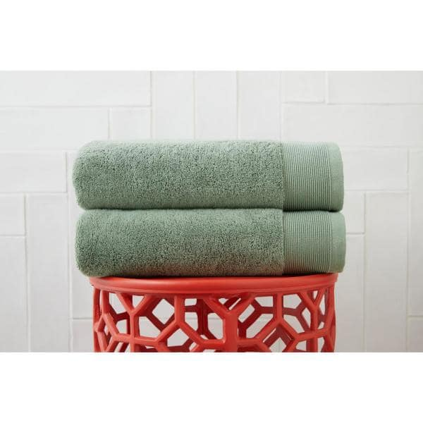 StyleWell Performance Quick Dry Towels (Willow Green or Biscuit): Set of 2 Hand Towels $5.71, Set of 2 Bath Towels $7.47 at Home Depot + Free Store Pickup