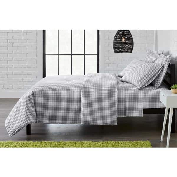 StyleWell Brushed MF Duvet Cover Sets: 2-Piece Twin $8.62, 3-Piece Full/Queen $10.54, 3-Piece King $11.62 at Home Depot + Free Store Pickup