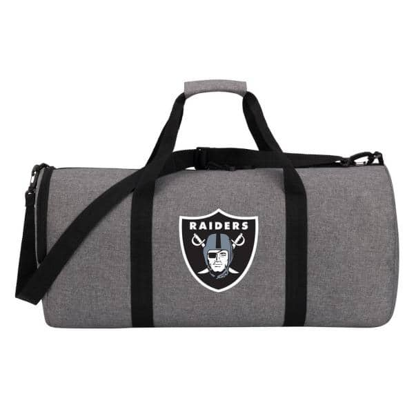 10-in. Raiders Wingman Duffle Bag, Heathered Gray $22.80 at Home Depot + Free Store Pickup