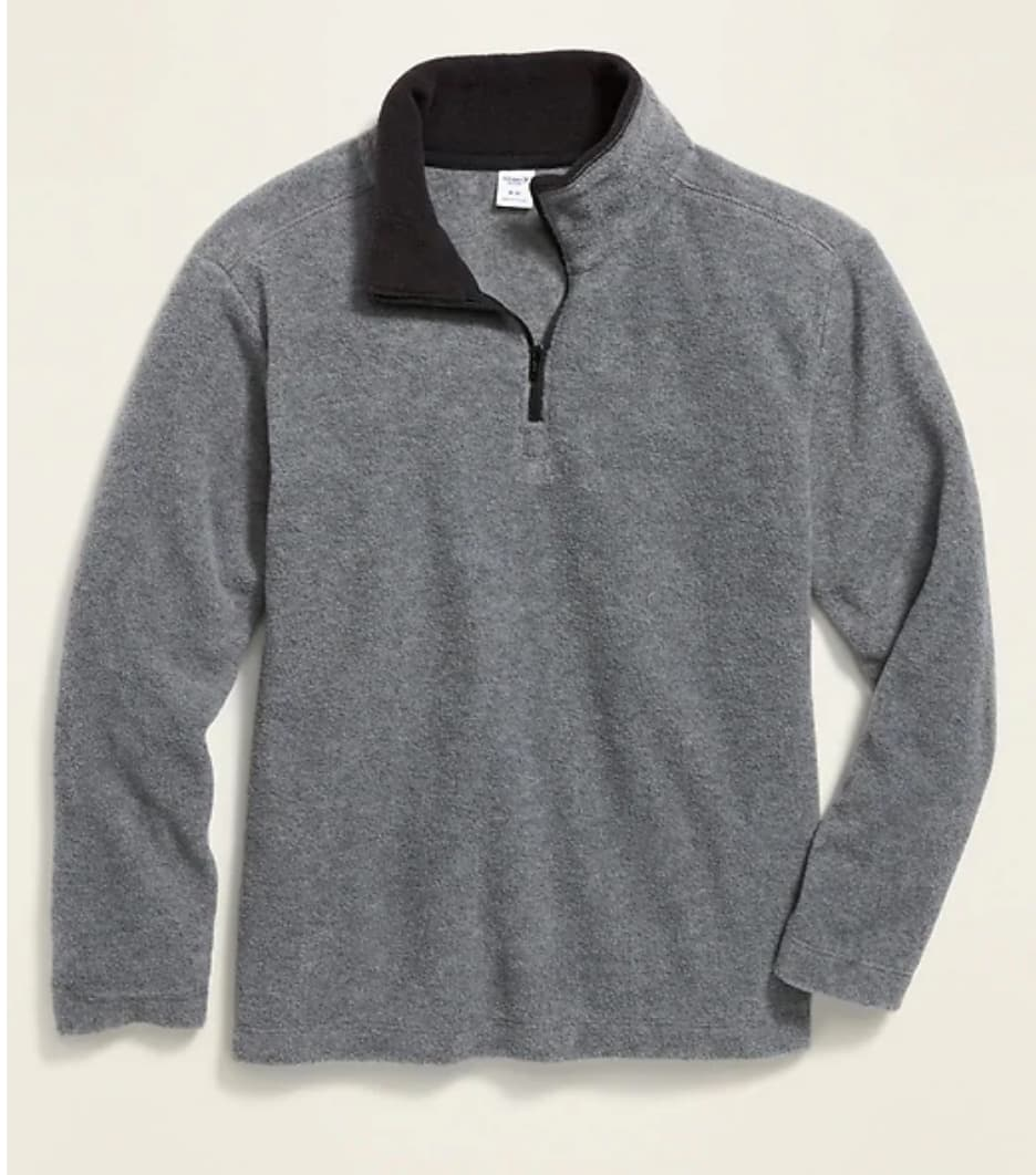 Old Navy: Boys' Uniform Sweater Vest or 1/4 Fleece Pullover: 2 for $8.97 [$4.48 each], Uniform Khakis: 2 for $14 [$7 each], Pullover Hoodie $7 + FS on $50+ [before discounts]