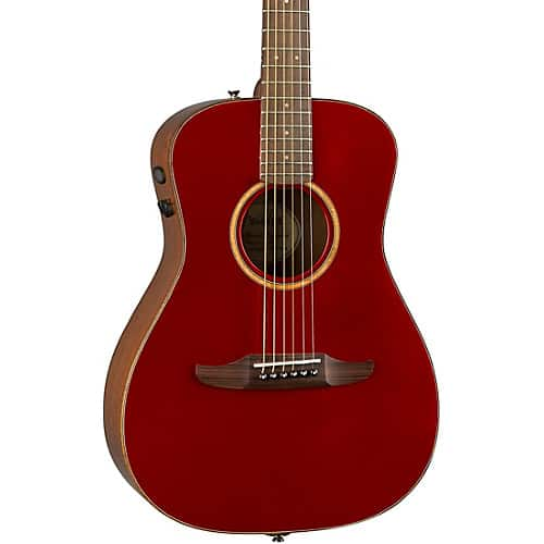 Fender California Malibu Classic Acoustic-Electric Guitar,  Red Metallic w/ Gig Bag $350 at Musician's Friend + Free S/H  [16% Back in Rewards]
