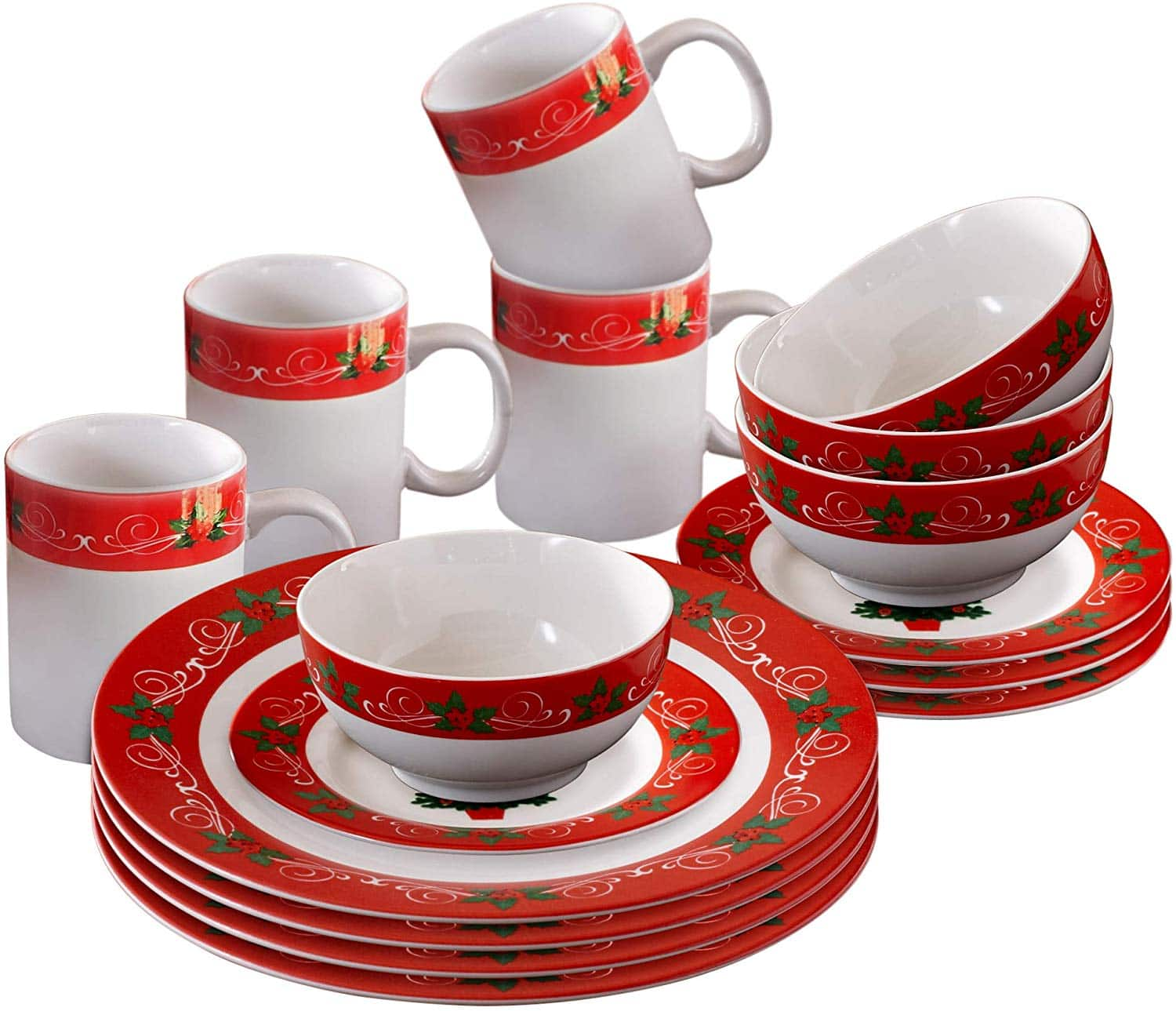 American Atelier 16-Piece Porcelain/Earthenware Dinnerware Sets from $25 at Home Depot + Free Store Pickup
