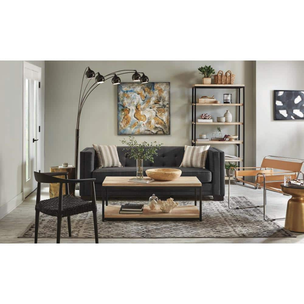 Steve Silver Round End Tables: Antique Copper $59.57, Lebron Brass $64.53 & More at Home Depot + Free Shipping
