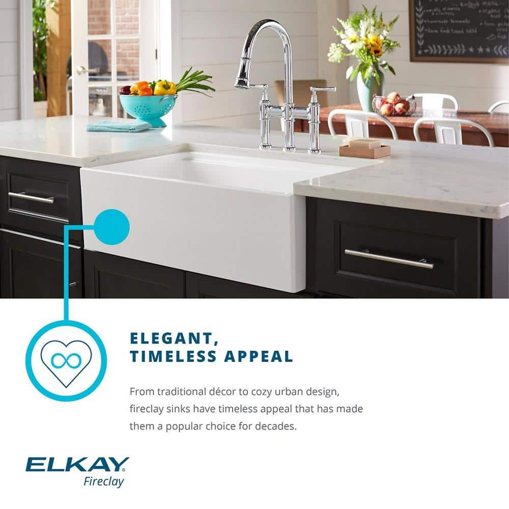 Kitchen Sink Clearance: Elkay 16-Inch Fireclay Bar Sink, Biscuit $108.34 & More + FS [new Amazon price matches]