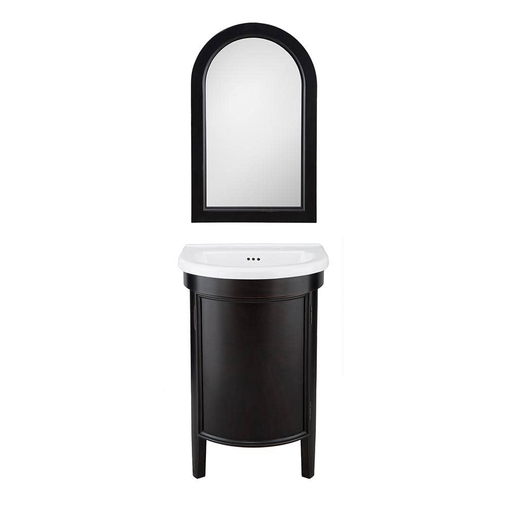 """Home Decorators Collection Bathroom Vanity & Sink: Laguna 23"""" W $257.60, Winslow 26"""" W $300 