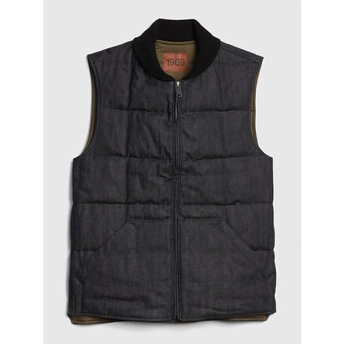 Gap.com: Men's Selvedge Puffer Vest $35.68 shipped & More