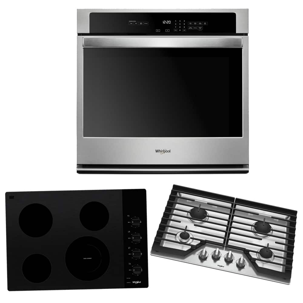 Extra $100 Off WYB Select Whirlpool Single Wall Oven & Cooktop at Home Depot, or Get Gift Card at Best Buy