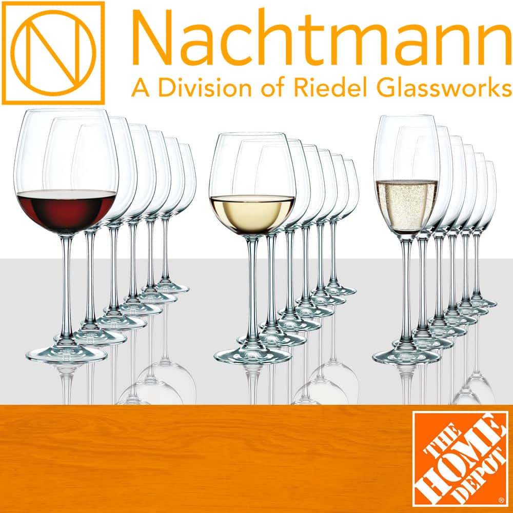 Nachtmann Vivendi 18-Piece Crystal Wine Glass Set (Assorted) $99.97 + Free Shipping