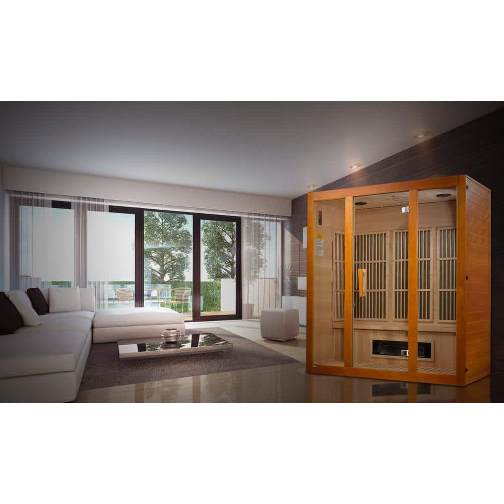 Maxxus Infrared Plug & Play Saunas: 2-Person $1249, 3-Person $1699 & More + Free Delivery