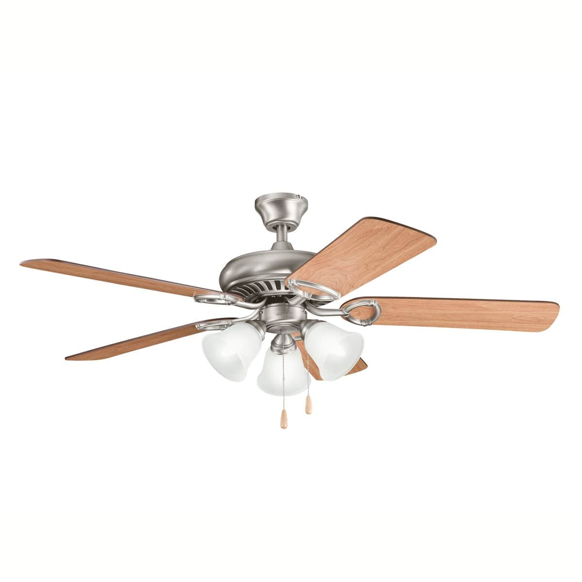 """Kichler Sutter Place 52"""" Premier Ceiling Fan w/ Light Kit $76 and More + Free Shipping"""