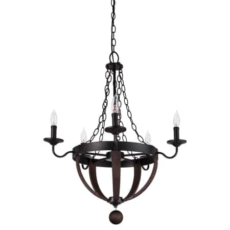 "Miseno 5 Light 25"" Wide Taper Candler Chandelier $40, 9-Light 32"" Wide $45 + Free Shipping"