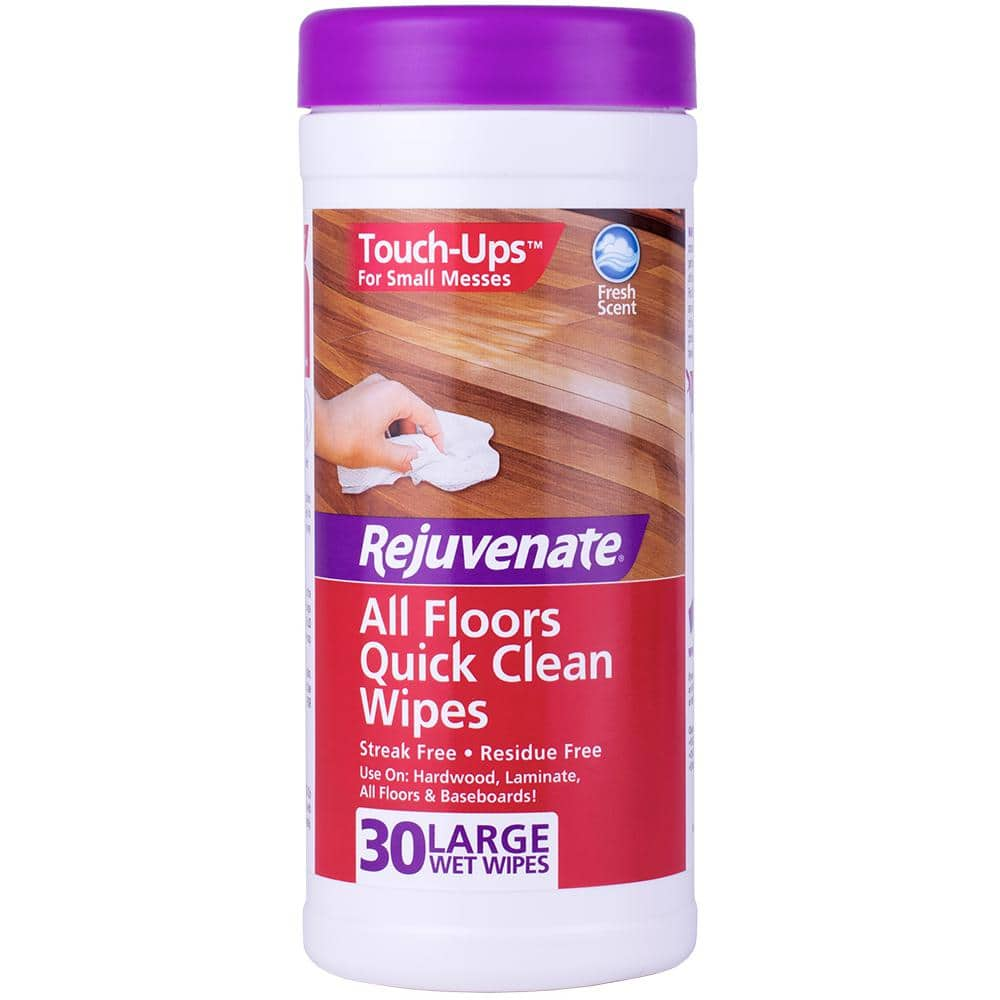 Rejuvenate 30-Count All Floors Quick Clean Wipes $6.57 + Free Shipping w/ S&S