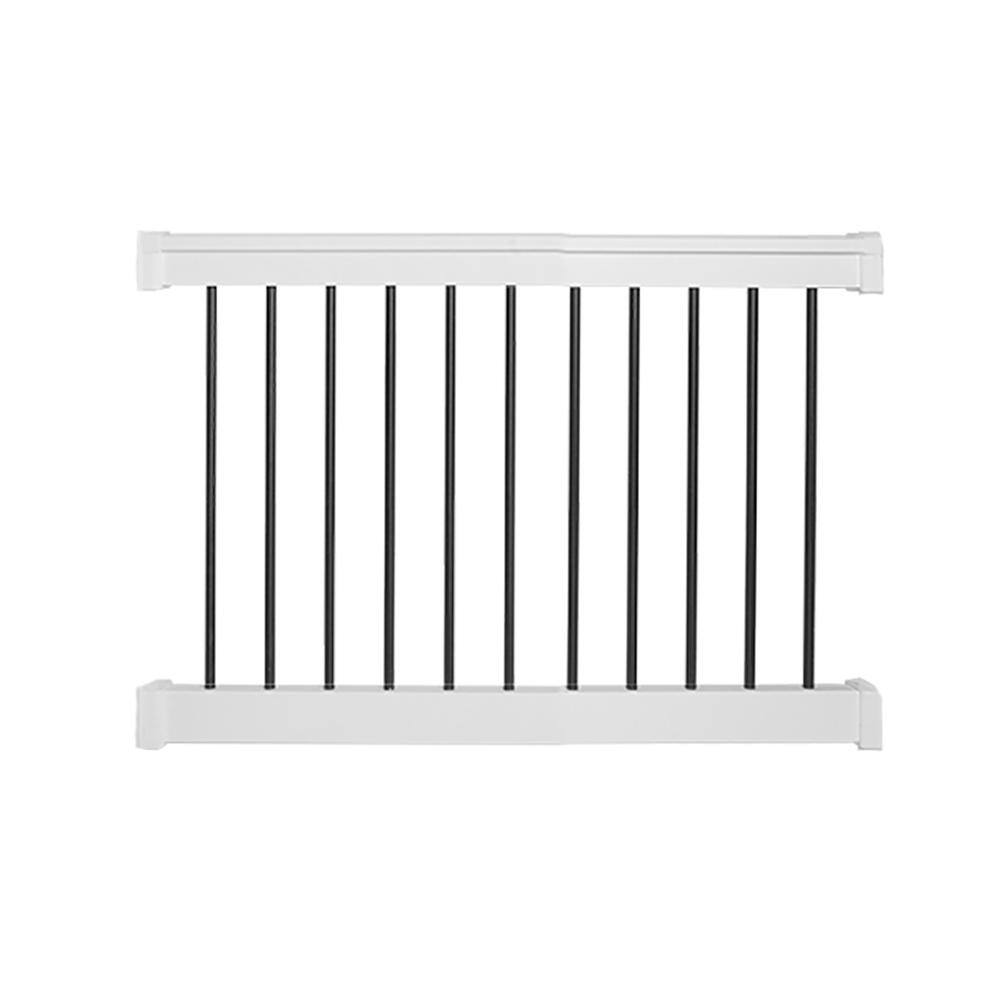 Weatherables Vinyl Railing Kits, 3' H x 4' W from $71.61, 3' H x 6' W $89.23 & More sizes + Free Shipping