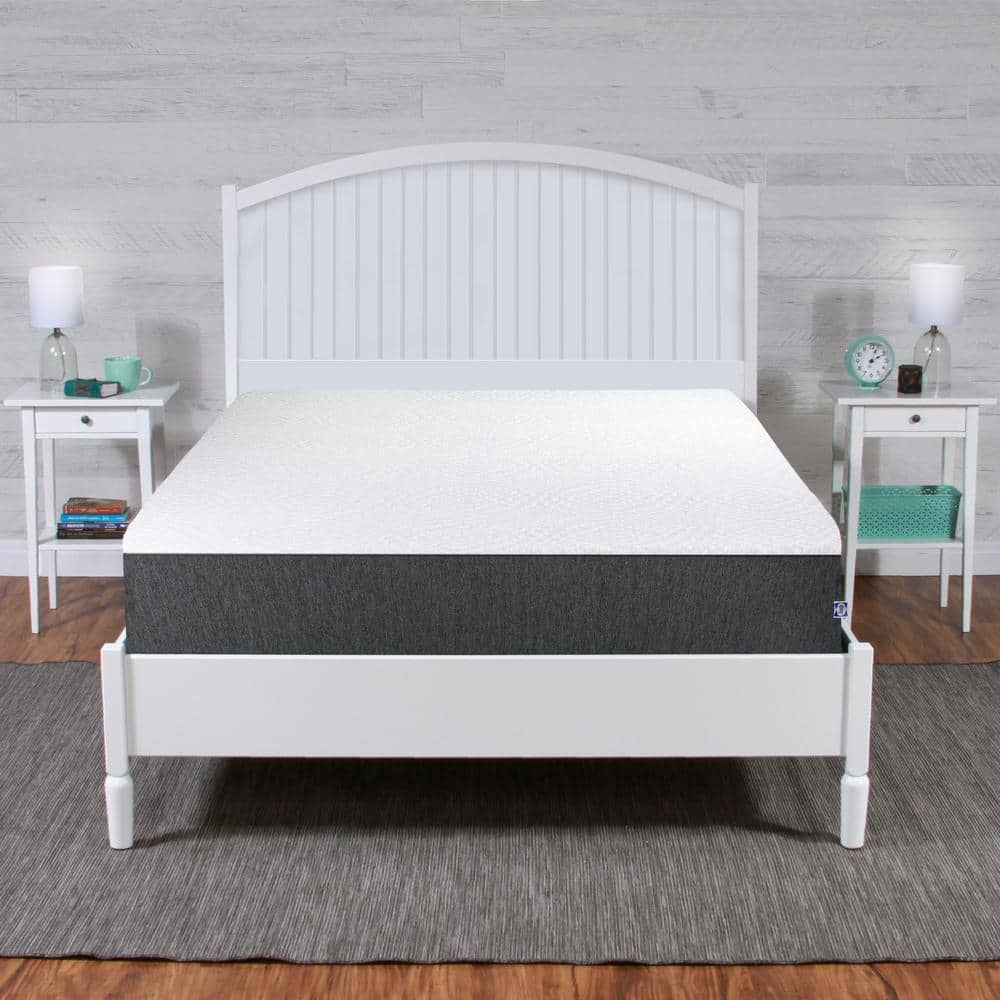 """Sealy 10"""" Spring + Memory Foam Hybrid Mattress (Medium Firm): Twin $300, Queen $400 at Home Depot + Free Shipping [Select locations]"""