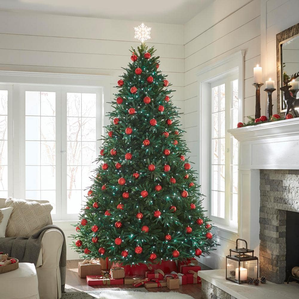 9' Splendor Spruce Pre-Lit Artificial Christmas Tree with On/Off Foot Pedal & Remote Control $212.25 + Free Shipping