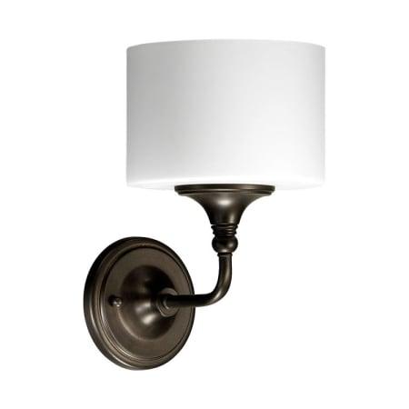 Quorum 1-Light Bathroom Sconces: Oiled Bronze Rockwood $11.14, Wright $17.86 + FS
