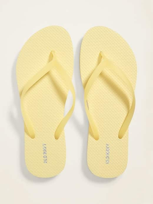 Old Navy Cardholders: Solid Color, Pop-Color or Classic Flip-Flops $1 each (Limit 5 per Online Order / avail in Stores)