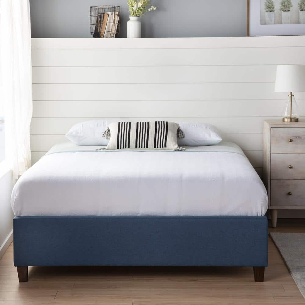 Brookside Ava Upholstered Platform Bed from $135.35 + Free S/H