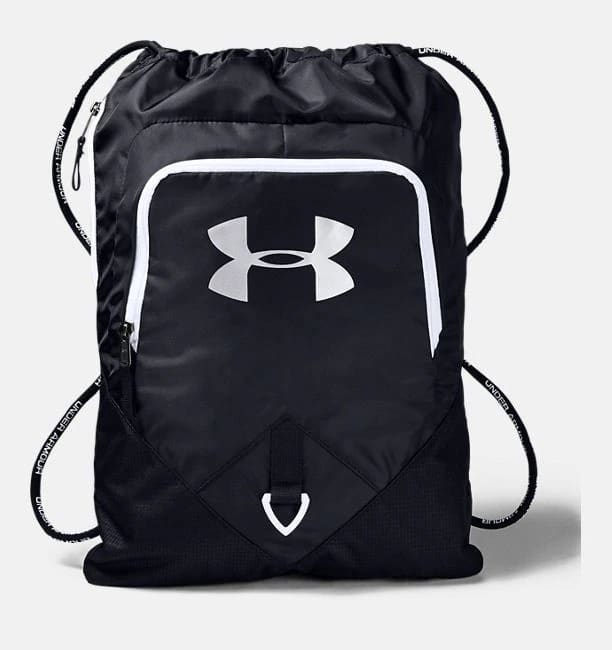 Under Armour UA Undeniable Sackpack (Black / White) $12.50 or Less + Free S/H