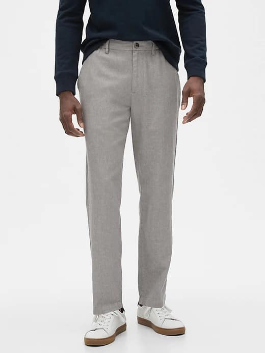 Banana Republic Factory: Linen-Blend Mason E-Waist Athletic-Fit Pant $16.57 + FS on $42.50+