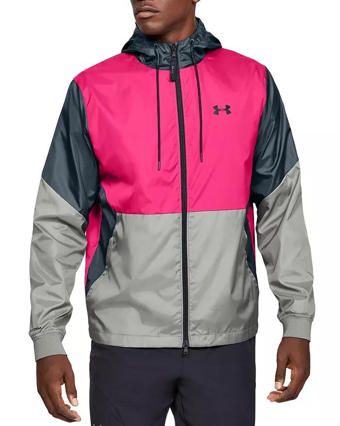 Men's Under Armour Trek Sherpa Full Zip Jacket (Black) $51.20, Legacy Windbreaker $47.25 & More + FS