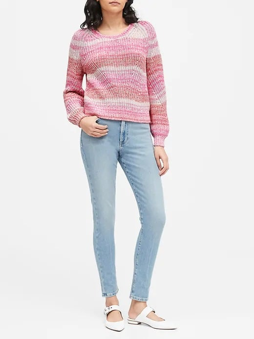 Extra 60% Banana Republic Markdowns: Women's Sweaters $12.40, Sherpa Hoodie $24, Men's Water-Repellant Quilted Vest $44 & More + FS on $20+
