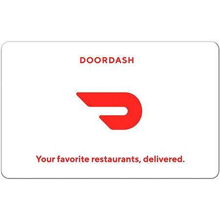 Sam's Club Members: $25 DoorDash Gift Card (Email Delivery) $22.50