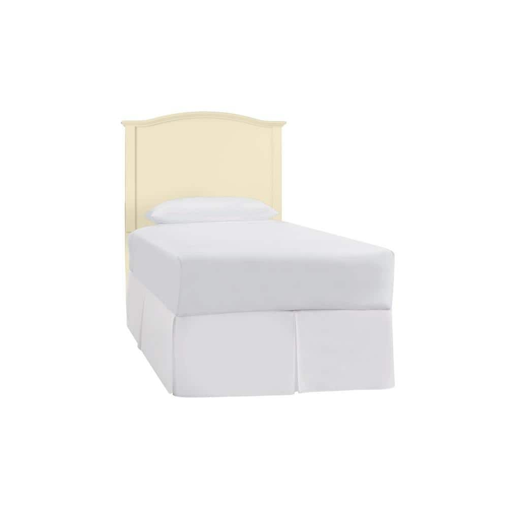 StyleWell Colemont Wood Curved Back Headboard: Full in Lemon Custard (56 in W. x 48 in H.) $102.81 + Free Shipping