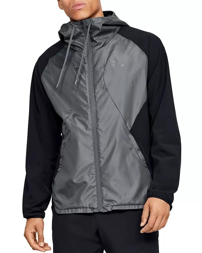 Men's Under Armour Stretch Woven Full Zip Jacket or Stretch Utility Tapered Pants $30, Trek Sherpa Full Zip Jacket (Black) $48.75 & More + FS