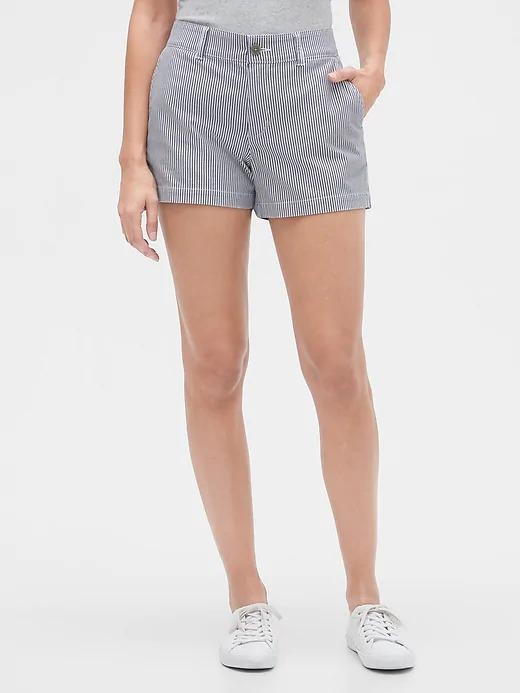 "Gap Factory: Women's 3"" Khaki Shorts or 5"" Girlfriend Khaki $10.48   Signature Skinny Ankle Khakis (pink sunburst) $13.28 + Free Shipping"