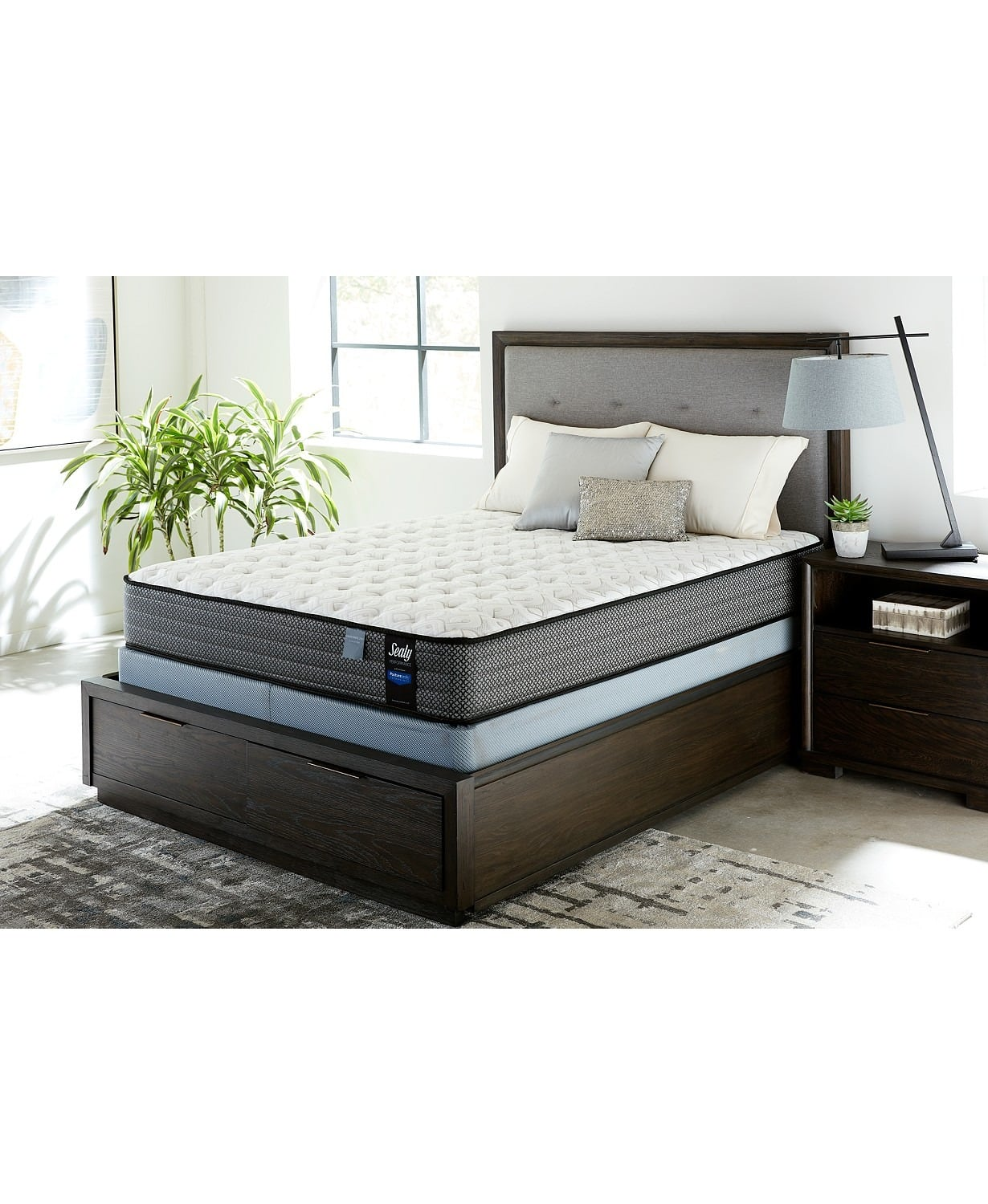 Sealy Posturepedic 11 Cushion Firm Queen Mattress Set 347 Full 14 Plush Pillow Top 837 King 947 More Fs On 787