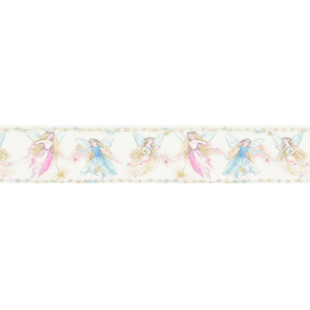 Cottingley Yellow Fairies Wallpaper Border (15 ft x 4 in) $7 & More + FS on $45+