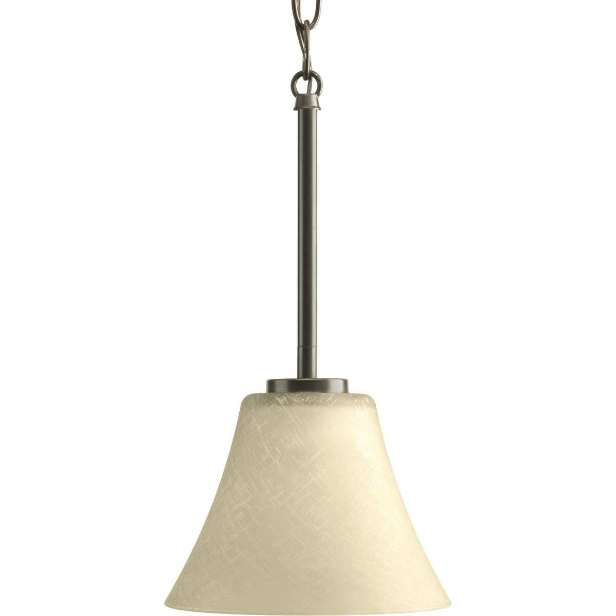 "Progress Lighting Bravo 7"" Wide Mini Pendant (Antique Bronze) $14.40 + FS w/ Prime"
