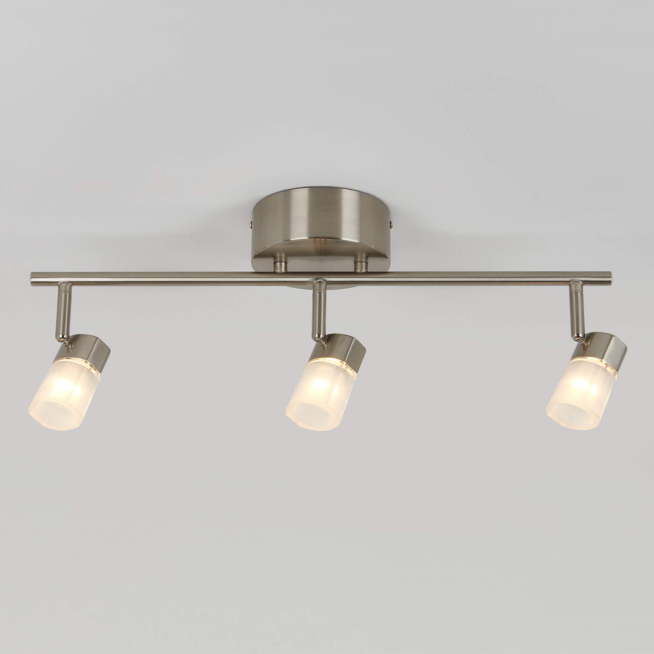Artika 3-Light Vars Integrated LED Track Light (Silver) $30 at Home Depot + FS on $45+