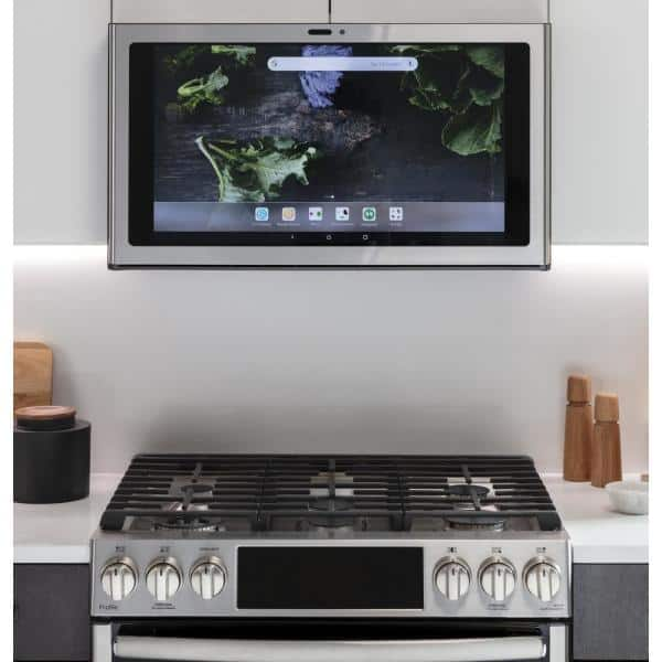 "GE Profile 30"" Smart Kitchen Hub / 600 CFM Range Hood w/ Light in Stainless Steel $698 + Free Shipping"