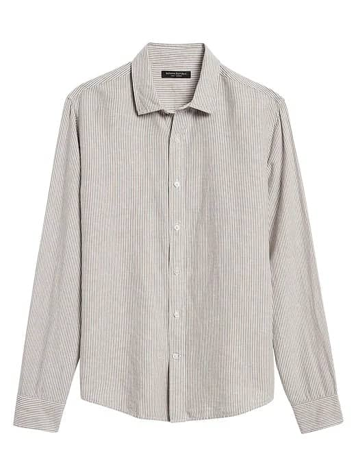 Banana Republic: Extra 50% Off: Men's Shirts $12.30, Women's Pants $14.90  | Men's Italian Sweaters $38.25 & More + Free Curbside Pickup (Cardholders Extra 10% Off)