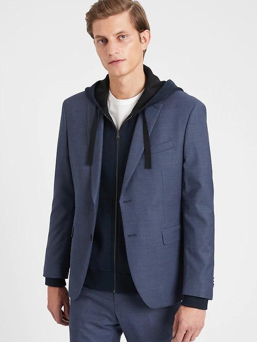 Banana Republic: Men's Extra-Slim Italian Wool Suit Jacket $80.90, Italian Melton Car Coat $108.10 & More + Free S/H